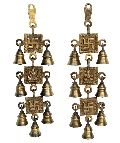 Laxmi Gnesha Swastik Hanging Bells for your door and decoration