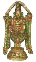 Tirupati BalaJi brass made decorative look Statue unique for Gift Sculpture