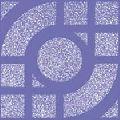 Anti Skid Arc Blue Floor Tiles