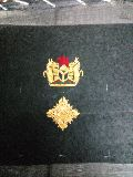 hand embroidered zari badges