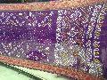 Purple Bandhani Sarees