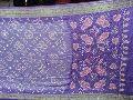 Bandhani Sarees Purple