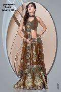 Lengha Style Saree (2010-620-A)
