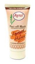 Apricot Peel Off Mask, Honey Peel Off Mask