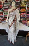 Designer Fancy Work Cotton Silk Saree Bollywood Superior Quality Fanc