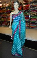 Designer Jacord Cotton Silk Saree