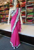 Designer Rasem Work Crepe Silk Saree
