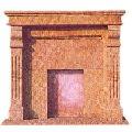 Stone Fireplace -002