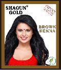 Shagun Gold Natural Brown Mehandi