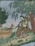 Ragni Gemstone Painting