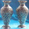 Silver Flower Vases 03