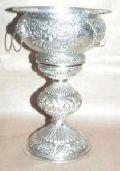 Silver Flower Vases 05
