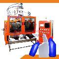 Double Station Angular Blow Molding Machine