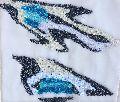 Sea Bird Embroidery Buta Patch