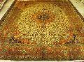 Kashmiri Silk Carpet (185-185)