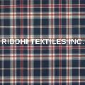 Yarn Dyed Madras Checks Curtain Fabric