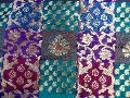 Chanderi Multi Design Fabric