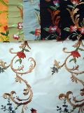 Polyester Slub Dupion Embroidery Fabrics