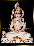 Colored Marble Shiva Statue