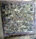 Bidasar Green Mosaic, Natural Stone, Morwad Pure White Marble