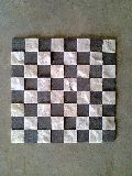 Kadapa Black, White Mosaic Agariya White Marble