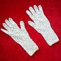 Long Grip Cotton Gloves