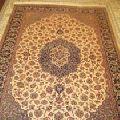 Kashmiri Handmade Wool Silk Carpets