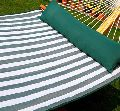 Quilted Hammock-Green & White