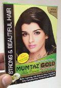 Mumtaz Gold Black Henna Hair Color