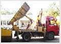 Desilting Machine With Tipping Container