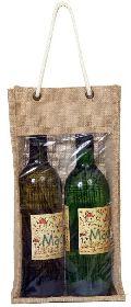 Two Bottle Window Bag