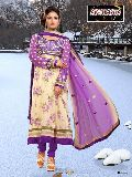 Designer Printed Anarkali Suit