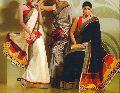Printed Satin Silk Sarees