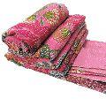 Indian Bedspread Floral Cotton