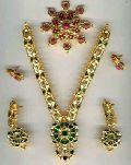 Kundan Necklace Set - (kns 01)