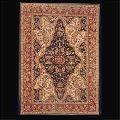 Hand Tufted Kashan Medallion Carpets- Psc-458