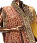 Hand Embroidered Saree Bs - 09