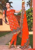 Anuthi Banarasi Silk Dress Material