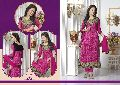 Crackers - Designer Georgette with Embroidered Straight Suits