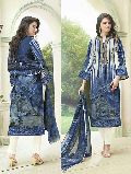 Glace Cotton Print with Embroidery Suit