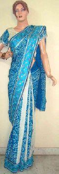Silk Bandhej Saree