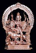 Kali Maa Brass Statue
