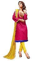 Banarasi Silk Embroidered Dress Material