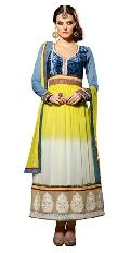Bridal Party Wear Designer Anarkali Suit