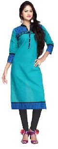 Sual Wear Cotton Long Kurti