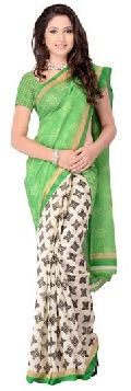 Digital Printed Casual Saree
