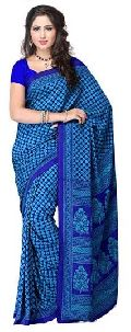Festive Season Crepe Saree