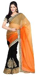 Georgette Embroidery Designer Saree
