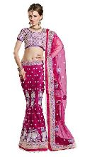 Net Embroidered Lehenga Choli