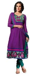 Party Wear Cotton Salwar Kameez